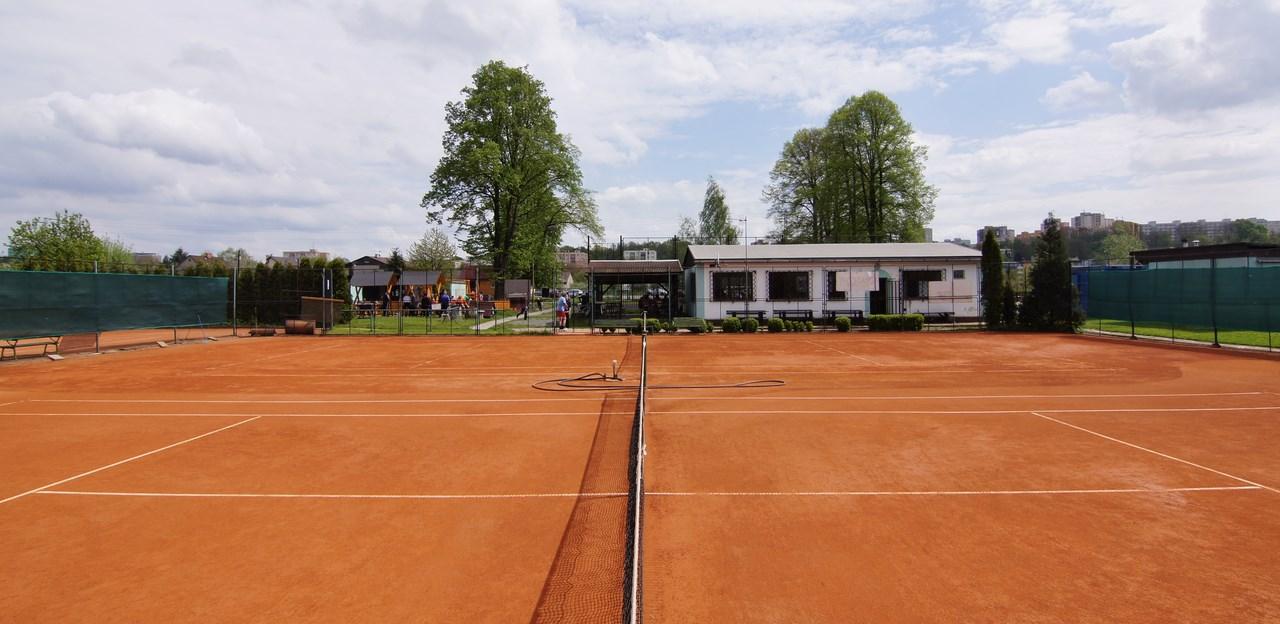Tenisové kurty číslo 1 a 2